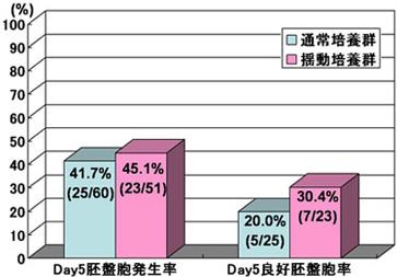 日本英医院试管婴儿业绩图-培养方法与囊胚形成率