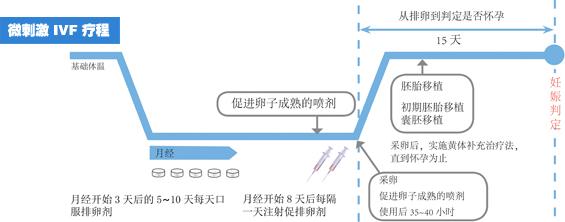 IVF 微刺激促排法